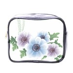 Flower028 Mini Toiletries Bag (One Side)