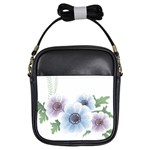 Flower028 Girls Sling Bag