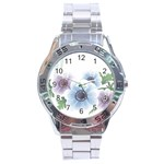 Flower028 Stainless Steel Analogue Men's Watch