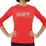 NSFW Women s Long Sleeve Dark T-Shirt