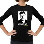 Winning Women s Long Sleeve Dark T-Shirt