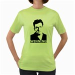 Winning Women s Green T-Shirt