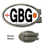 GBG - Guernsey Euro Oval Money Clip (Oval)