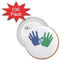 Hand 1.75  Button (100 pack)