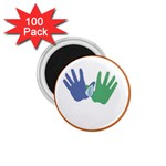 Hand 1.75  Magnet (100 pack)