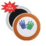 Hand 2.25  Magnet (10 pack)