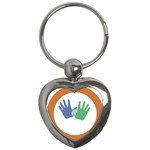 Hand Key Chain (Heart)