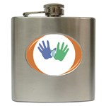 Hand Hip Flask (6 oz)