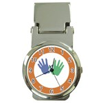 Hand Money Clip Watch