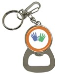 Hand Bottle Opener Key Chain