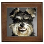 Animals Dogs Funny Dog 013643  Framed Tile