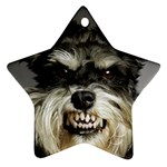 Animals Dogs Funny Dog 013643  Ornament (Star)