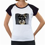 Animals Dogs Funny Dog 013643  Women s Cap Sleeve T