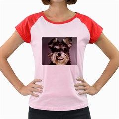 Animals Dogs Funny Dog 013643  Women s Cap Sleeve T Front