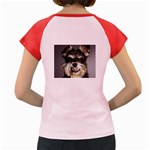 Animals Dogs Funny Dog 013643  Women s Cap Sleeve T Back