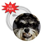 Animals Dogs Funny Dog 013643  2.25  Button (10 pack)