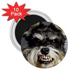 Animals Dogs Funny Dog 013643  2.25  Magnet (10 pack)