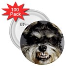 Animals Dogs Funny Dog 013643  2.25  Button (100 pack)