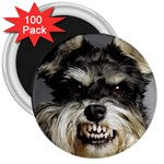 Animals Dogs Funny Dog 013643  3  Magnet (100 pack)