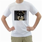 Animals Dogs Funny Dog 013643  White T-Shirt