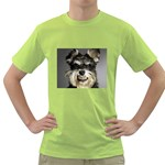 Animals Dogs Funny Dog 013643  Green T-Shirt