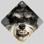 Animals Dogs Funny Dog 013643  Car Window Sign