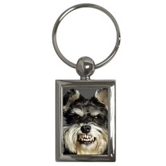 Animals Dogs Funny Dog 013643  Key Chain (Rectangle) from ArtAttack2Go Front