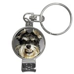 Animals Dogs Funny Dog 013643  Nail Clippers Key Chain