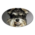 Animals Dogs Funny Dog 013643  Magnet (Oval)