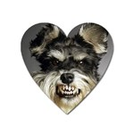 Animals Dogs Funny Dog 013643  Magnet (Heart)