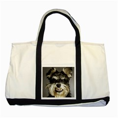 Animals Dogs Funny Dog 013643  Two Tone Tote Bag from ArtAttack2Go Front