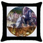 !ndn5 Throw Pillow Case (Black)