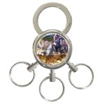 !ndn5 3-Ring Key Chain