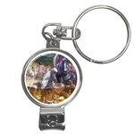 !ndn5 Nail Clippers Key Chain