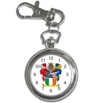 Half Irish American Crest (2) Key Chain Watch