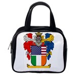 Half Irish American Crest (2) Classic Handbag (One Side)