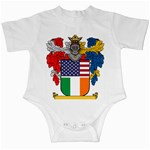 Half Irish American Crest (2) Infant Creeper