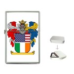 Half Irish American Crest (2) Flip Top Lighter