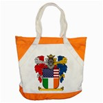 Half Irish American Crest (2) Accent Tote Bag
