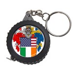 Half Irish American Crest (2) Measuring Tape