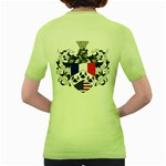 Half France American Crest Women s Green T Back