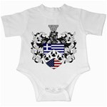 Half Greece American Crest (2) Infant Creeper