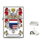 Half Netherlands American Crest Flip Top Lighter