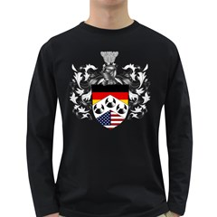 Heritage German American  Long Sleeve Dark T Front