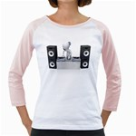 Dj Mixing Turntables 1600 Clr Girly Raglan
