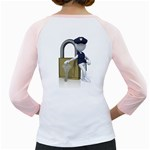 Security Lock Stick Figure 1600 Clr Girly Raglan from ArtAttack2Go Back