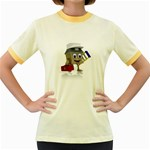 Home Construction 1600 Clr Women s Fitted Ringer T-Shirt