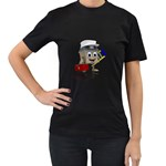Home Construction 1600 Clr Women s Black T-Shirt (Two Sides)