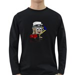 Home Construction 1600 Clr Long Sleeve Dark T-Shirt