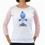 Fortune Teller Crystal Ball 1600 Clr Girly Raglan